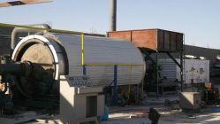 Continua de alta capacidad de los residuos de aceite de plantas de pirólisis de neumáticos