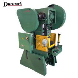 J23 ماكينة خرم المعادن أحادية التدوير ذات الضغط المعدني J23
