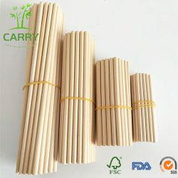 Высокого качества деревянные бамбуковые палки Craft круглые ломтики