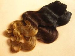 Inslag van het Haar van de Kleur van Ombre van Drie Toon van het Menselijke Haar van de levering Weft