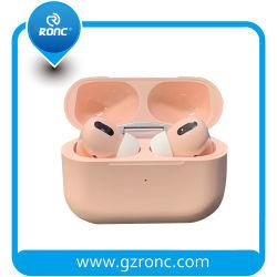 공기 깍지 3 비용을 부과 케이스를 가진 직업적인 Macaron Tws 무선 Bluetooth 이어폰 헤드폰 Earbuds I300 Tws 이어폰을%s