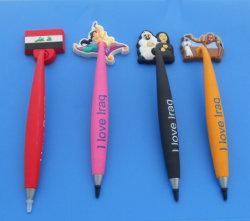 En PVC Souple personnalisé stylo magnétique (comme-MP-LU-101) de l'Iraq cadeaux Stylo Bapp 3D