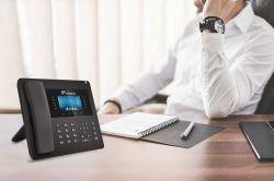 BusinessDesktop IP telefone telefone do escritório 7.2-Inchs Tela Colorida VoIP Telefone Comercial