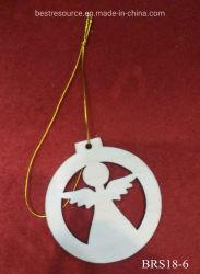 Piccolo regalo d'attaccatura di scultura di legno Handmade della decorazione del mestiere per l'ornamento di natale