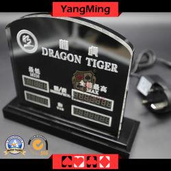 Diseño de fábrica Custom Dragon Tiger Juego de Mesa Juegos de Mesa Casino signo limitada LED