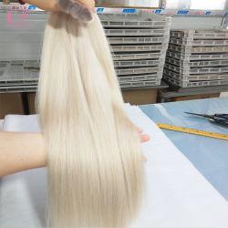 Cuticola completa capelli trecciati umani senza trama
