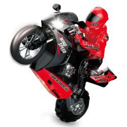 2020 heißes Verkaufs-Spielzeug-1:6, welches die RC Motorrad-Bremsung läuft Motorrad-Plastikminimotorrad Selbst-Balanciert