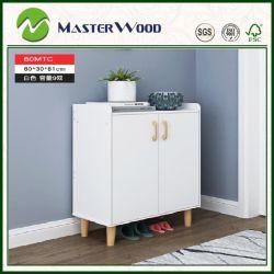 서랍 홈 또는 거실 가구를 가진 도매 저가 백색 색깔 또는 벽 /Wood/Wooden /Solid Wood/MDF/Display/Closet 단화 저장 선반 내각