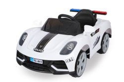 Polizeiwagen für Kind-Spielzeug-Fahrt auf Auto/Remotoe Steuerelektrisches Baby-Auto