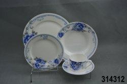 20pcs fleur classique du nouvel os de la Chine Service à thé
