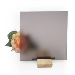 La segretezza ha protetto il vetro decorativo temperato del comitato del divisorio libero traslucido della stanza da bagno glassato ferro basso indistinto della decorazione di arte della parete