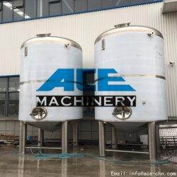 Serbatoio dell'acqua calda del serbatoio dell'acciaio inossidabile del commestibile del serbatoio di 100~20000 Lliquid