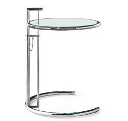 Table réglable en acier inoxydable côté moderne Table (D19)
