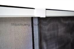 조정가능한 Windows 스크린 알루미늄 합금 프레임 활주 반대로 모기장