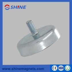 Potenciômetro personalizados ímãs Base Magnética de cerâmica