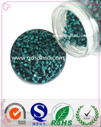 Masterbatch de color verde para el moldeo por inyección
