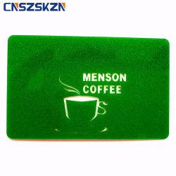 Offset de Design Personalizado 4c plástico de Impressão CMYK Business Gofragem Placa preta para venda