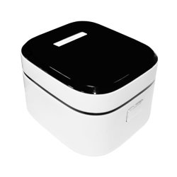 家庭電化製品のアルミニウム内部の鍋の各国用の炊飯器が付いている電気炊飯器