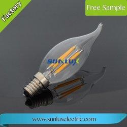 Bougie avec ampoule à filament LED DE QUEUE