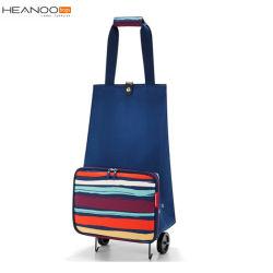コンパクトな拡張可能柔らかシェルのナイロンによって動かされる市場のショッピングトロリー袋