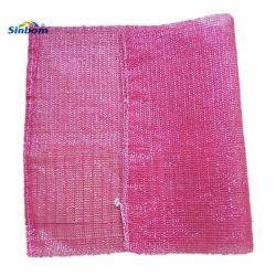 Sacchetto di lavoro a maglia di Raschel della maglia del sacchetto della maglia della garza del polipropilene dell'HDPE tubolare del sacchetto netto