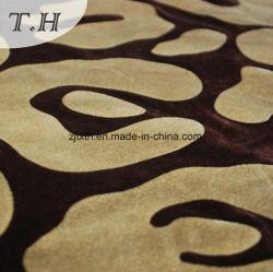 Joli flocage nylon polyester troupeau pour canapé