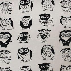 Malasia la impresión de tejidos de algodón bolsas de zapatos de tela de lienzo de dibujos animados