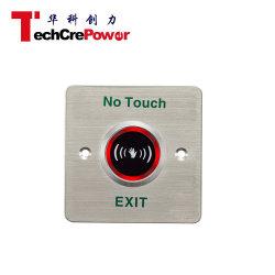 EL-806D'Indication par LED N° de commutateur de capteur infrarouge Touchez le bouton de déverrouillage de porte sans contact de sortie