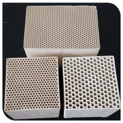 De almacenamiento térmico en forma de panal de cerámica de RTO RCO/catalizador para la recuperación de calor