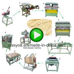A fábrica de bambu de madeira redonda incenso palito Chopstick Stick fazendo a máquina