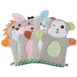 Plüsch-Tierbaby-Bad-Handschuh-weicher Baby-Wäsche-Handschuh
