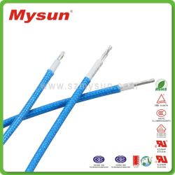 UL3122 en usine en fibre de verre silicone souple de gros fil électrique