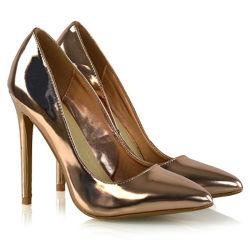 Nueva llegada sexy señoras italianas de Tacón zapatos para vestido de fiesta