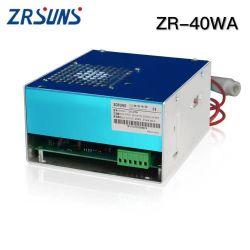 Les compresseurs ZR-40W-50W-60W laser au CO2 Alimentation pour machine à gravure laser