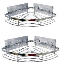 Anahook anhaftende Dusche-Transportgestell-Ecken-Zahnstangen-Sets
