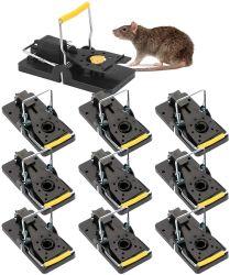 Mola de captura de roedores reutilizável Snap trap Mouse de plástico