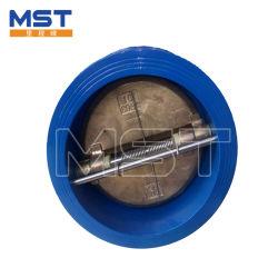 صمام فحص رقاقة مزدوجة من نوع الصفيحة من الفولاذ الكربوني صمام الكرة صمام البوابة API ANSI DIN