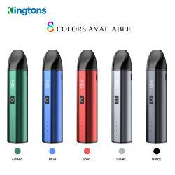 2020 Comercio al por mayor negro de cigarrillos vaporizador electrónico Nova el hábito de fumar