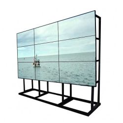 وحدة التحكم شاشة اللمس المتعددة حامل متعدد مقاس 46 بوصة حامل أرضي حائط فيديو لوحة العرض