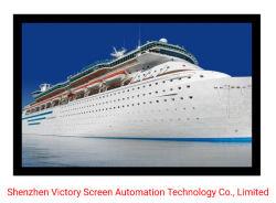 Victory 120 بوصة ′ ALR شاشة جهاز العرض بإطار من الألومنيوم والأسود شاشة عرض مخملية ذات إطار ثلاثي الأبعاد فضية ذات إطار ثابت للشاشة الرئيسية المسرح
