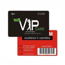 L'impression CMJN plastique PVC carte de membre VIP de cadeaux de fidélité