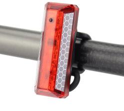 Светодиодный индикатор на велосипеде заднего фонаря, Super яркий светодиод аккумулятор велосипед задний фонарь со светоотражающими ремни, красный фонарь для оптимального цикла предупреждение системы безопасности