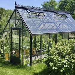 Moderne Mini Aluminium/RVS PE Garden Greenhouse met dubbele deur Of venster