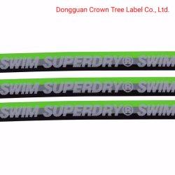 Cinta elástica de tejido nombre impreso el logotipo personalizado