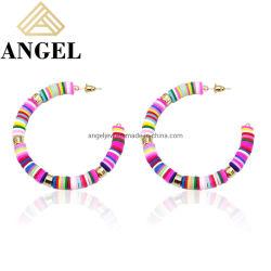 Новые поступления 925 серебристые Earring валик клея Earring индивидуального дизайна для оптовых