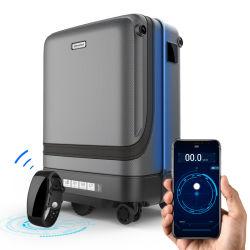La scheda di carico Bluetooth del USB della nave di viaggio d'affari di modo dei bagagli della serratura astuta libera dell'impronta digitale segue i bagagli