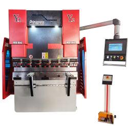 Automatisch elektrisch hydraulisch CNC stalen plaatstaal snijden en buigen Druk op de rem machine