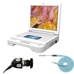На заводе 21-дюймовый портативный жесткий ветеринарных эндоскопа камеры для медицинских Cystoscope Ent портативный эндоскоп эндоскоп видео с камеры светодиодный источник света