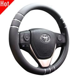 Accessori dell'automobile di disegno coperchio universale 60413 del volante del PVC dell'unità di elaborazione da 15 pollici