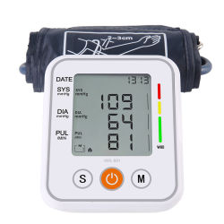 Medicina personalizada do monitor da pressão arterial do tipo braço de saúde, tipo BP